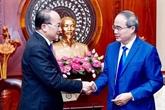 Renforcer la coopération multiforme entre Hô Chi Minh-Ville et Singapour