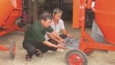 Dang Ngoc Toàn, invalide de guerre et mécanicien dévoué