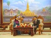 Une délégation de Hô Chi Minh-Ville en visite au Laos