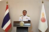 Le PM thaïlandais présente la politique gouvernementale au Parlement