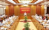 Réunion du Comité central de pilotage de la lutte contre la corruption