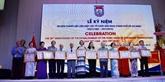 Célébration des 30 ans de l'Union des organisations d'amitié de Hô Chi Minh-Ville