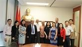 Une délégation de la revue Communisme en visite au Canada