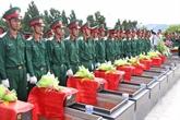 Inhumation des restes de soldats vietnamiens à Kiên Giang et à Gia Lai