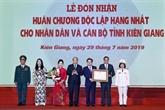 Le Premier ministre félicite Kiên Giang pour ses efforts