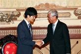 Hô Chi Minh-Ville souhaite un soutien supplémentaire du Japon