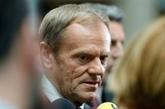 UE: la nouvelle équipe ne bougera pas sur le Brexit, assure Tusk