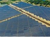 Hà Tinh: la première centrale solaire voit le jour