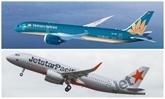 Face au typhon Mun, Vietnam Airlines modifient des vols