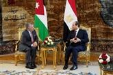 L'Égypte et la Jordanie appellent à la reprise des pourparlers de paix israélo-palestiniens