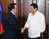 Une délégation du Parti en visite officielle aux Philippines