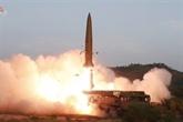 La RPDC lance deux missiles à courte portée depuis la côte est, selon Séoul