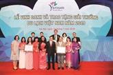 De nombreux prix pour Saigontourist en 2019