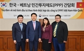 Investissement privé: le Vietnam s'intéresse aux expériences sud-coréennes
