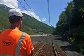 Orages: la ligne TGV France-Italie via Modane coupée