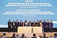 EVFTA et EVIPA, deux accords gagnant-gagnant