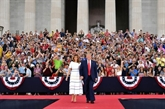 Face aux critiques, Trump exalte le rassemblement lors de la Fête nationale