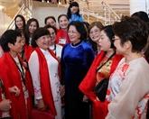 La vice-présidente Dang Thi Ngoc Thinh au Sommet mondial des femmes 2019