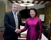 Des activités de la vice-présidente vietnamienne Dang Thi Ngoc Thinh en Suisse