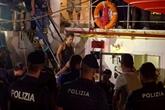 Italie: un navire humanitaire à Lampedusa, tout débarquement interdit