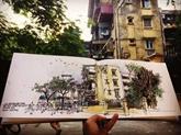 Ces dessinateurs urbains qui préservent les mémoires de Hanoï