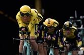 Tour de France: les Jumbo du maillot jaune Teunissen victorieux