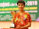 """L'équipe féminine de Hô Chi Minh-Ville remporte la """"Raquette d'or"""""""