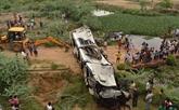 Inde: au moins 29 morts dans un accident d'autocar