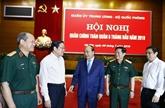 Le Premier ministre assiste à la conférence politico-militaire de l'armée