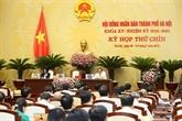 Ouverture de la 9e session du Conseil populaire municipal de Hanoï