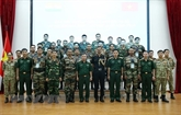 Le Vietnam et l'Inde partagent leurs expériences sur le maintien de la paix