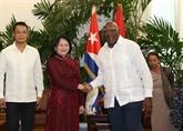 Promotion des relations de solidarité fraternelle Vietnam - Cuba