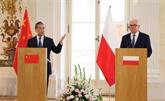Le MAE chinois appelle à approfondir le partenariat stratégique global avec la Pologne