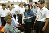 La ministre de la Santé en visite de travail à Ninh Binh