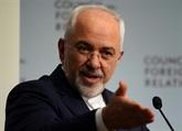 États-Unis: sanctions contre le chef de la diplomatie iranienne