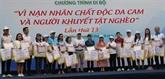 Activités en commémoration des victimes de l'agent orange dans tout le pays