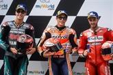 MotoGP: Marquez souverain aux qualifications en Autriche devant Quartararo