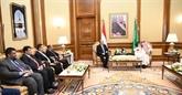 Le président du Yémen rencontre le roi d'Arabie saoudite