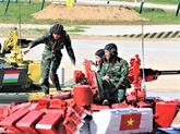 Army Games 2019: bonne performance du groupe vietnamien de blindés