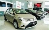 Croissance des ventes de voitures de la VAMA en sept mois
