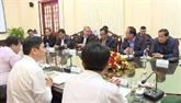 Dông Thap et Pray Veng promeuvent le commerce transfrontalier