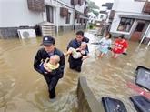 Chine: le typhon Lekima fait 49 morts et 21 disparus