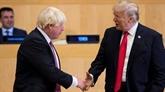 Donald Trump et Boris Johnsondiscutent des relations bilatérales par téléphone