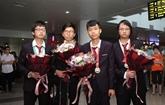 Les résultats aux Olympiades révèlent la qualité de l'éducation