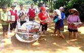 La CRV accorde des aides d'urgence aux victimes à Tây Nguyên et au Sud