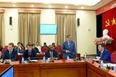 Académie nationale de politique Hô Chi Minh : échange de vue sur la coopération internationale