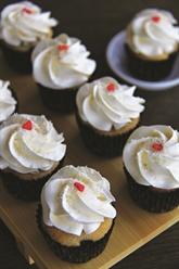 Petits gâteaux glacés à la crème au beurre