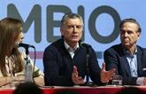 Le président argentin annonce des mesures d'aide économique