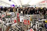 La Chine dénonce la violence à l'aéroport de Hong Kong