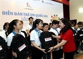Ouverture du Forum national des enfants 2019 à Hanoï